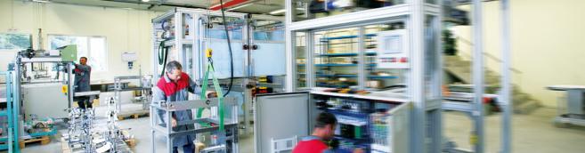 Genie mecanique usine emballage