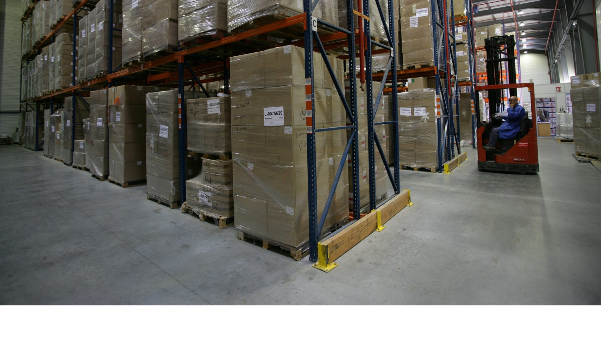 food packaging warehouse