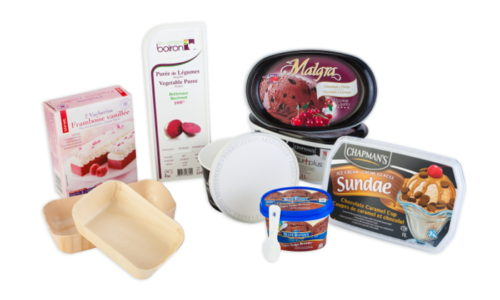 Frozen products, ice cream, sorbet, les vergers boiron, malgra, chapman's, thiriet, bluebunny