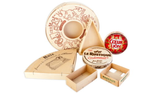 brie, le rustique coulomier, coeur de lion, coulibeur, margalet - wooden food packaging, wooden boxes - envases alimentarios de madera -