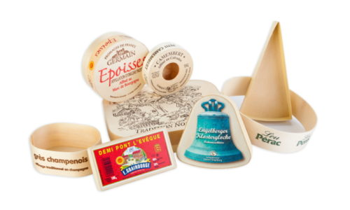 époisses, lou pérac, grès champenois, pont l'évèque, engelberger, klosterglocke, wooden boxes for cheese, wooden trays for cheese and dairy products -  envases alimentarios de madera para quesos y productos lacteos