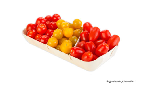 étuis séparateurs légumes tomates cerises - wood trays for fruits and vegetables -  bandejas maderas par frutas y vegetales