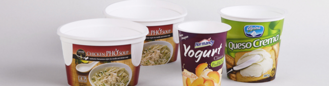 Pots de yahourt, nouilles, fromages frais, cuisine adventure, normandy, alpina