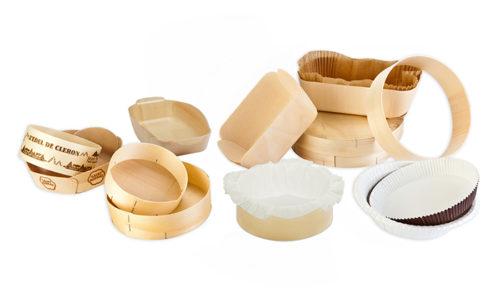 barquette bois cuisson, passage au four,  baking wooden tray, bandejas maderas para coccion